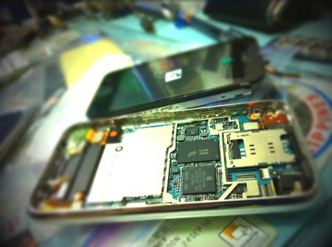 Iphone 3gs Changed LCD Touch Screen Repair Its Problem Of No Light